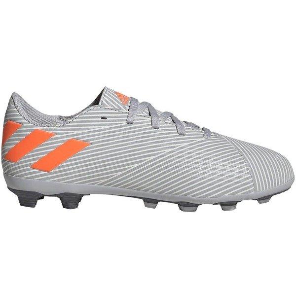 Buty piłkarskie adidas Nemeziz 19.4 FxG JR szare EF8305