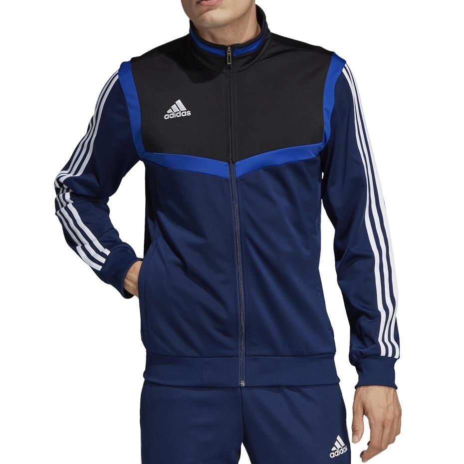 Bluza męska adidas Tiro 19 Polyester Jacket granatowa DT5785