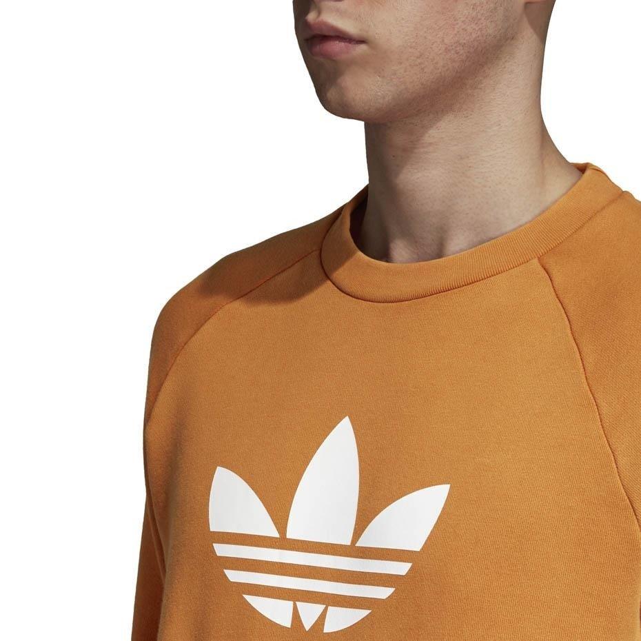 bluza adidas męska pomarańczowa