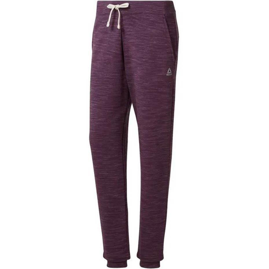 Spodnie Adidas Spodnie dresowe damskie fioletowe w About You