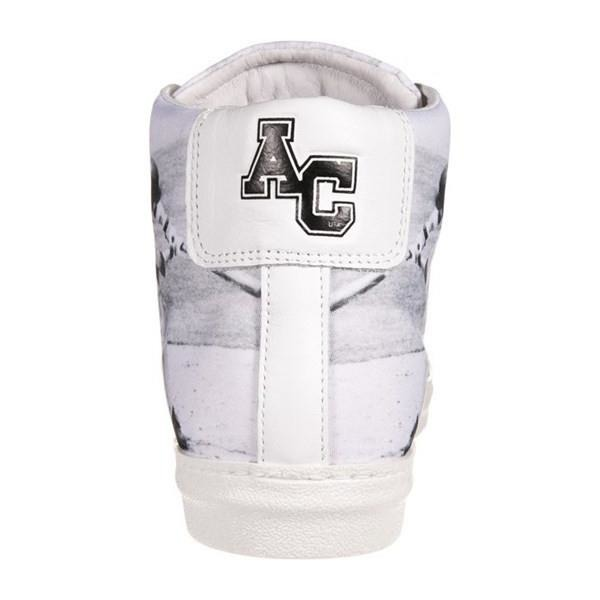 American College baseball sneakers