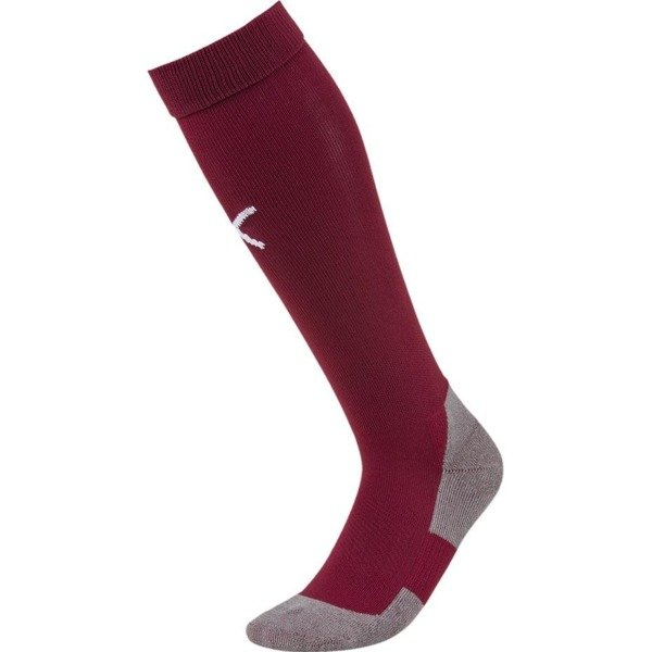 Getry piłkarskie Puma Liga Core Socks bordowe 703441 09