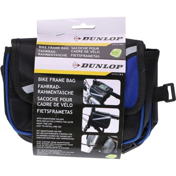 Sakwa rowerowa Dunlop Bike Frame Bag 2ass 027395