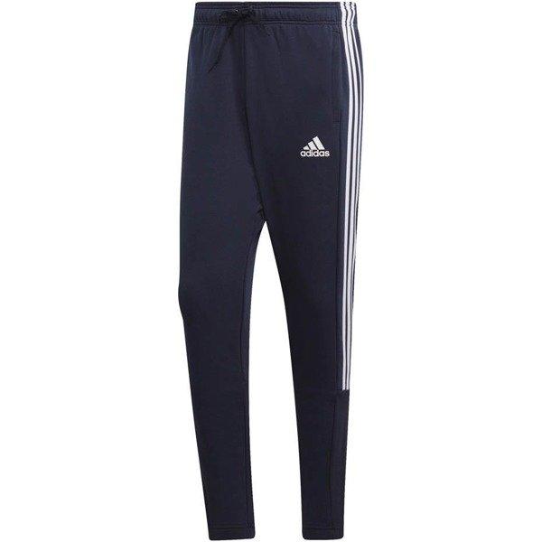 Spodnie męskie adidas Must Haves 3 Stripes Tiro FT granatowe DX0652
