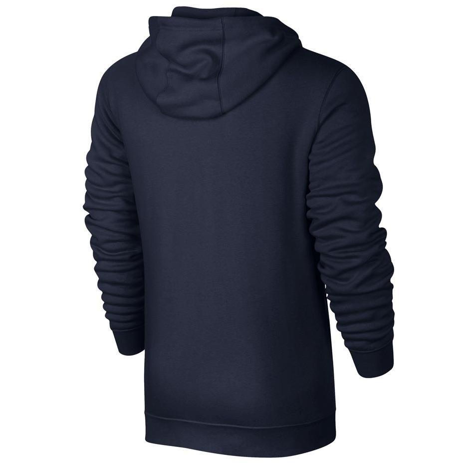 Bluza męska Nike M NSW Hoodie FZ FLC Club szara 804389 063