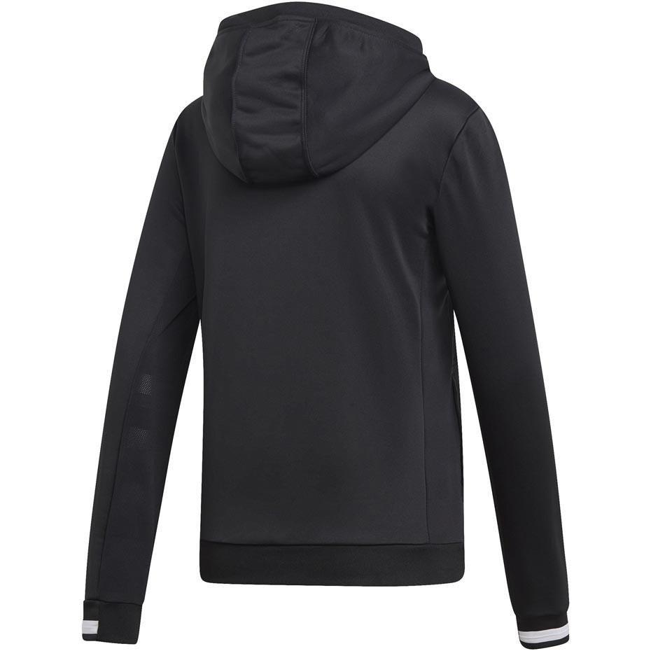 Bluza damska adidas Team 19 Hoody Women czarna DW6872