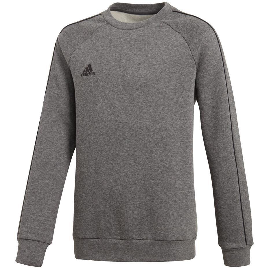 Bluza dla dzieci adidas Core 18 Sweat Top JUNIOR szara CV3969
