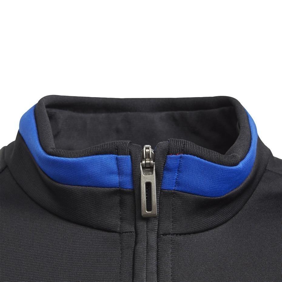 Bluza dla dzieci adidas Tiro 19 Polyester Jacket JUNIOR granatowa DT5790