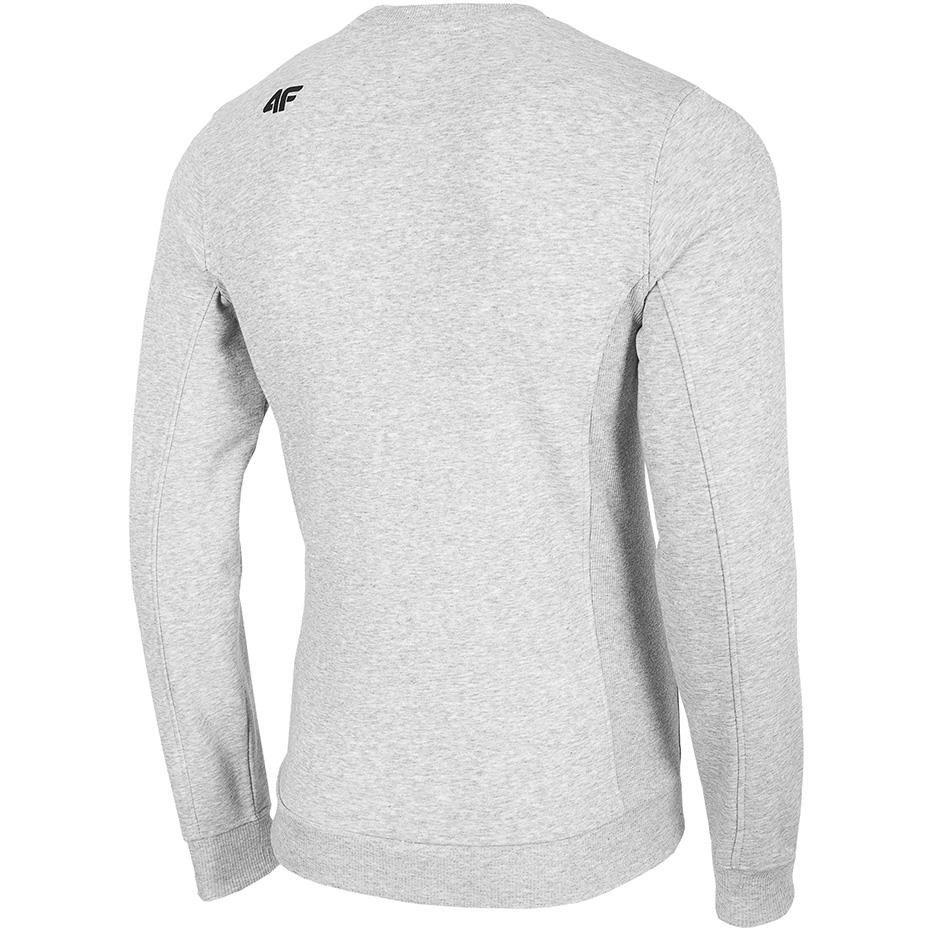 Bluza męska 4F chłodny jasny szary melanż H4Z19 BLM001 27M
