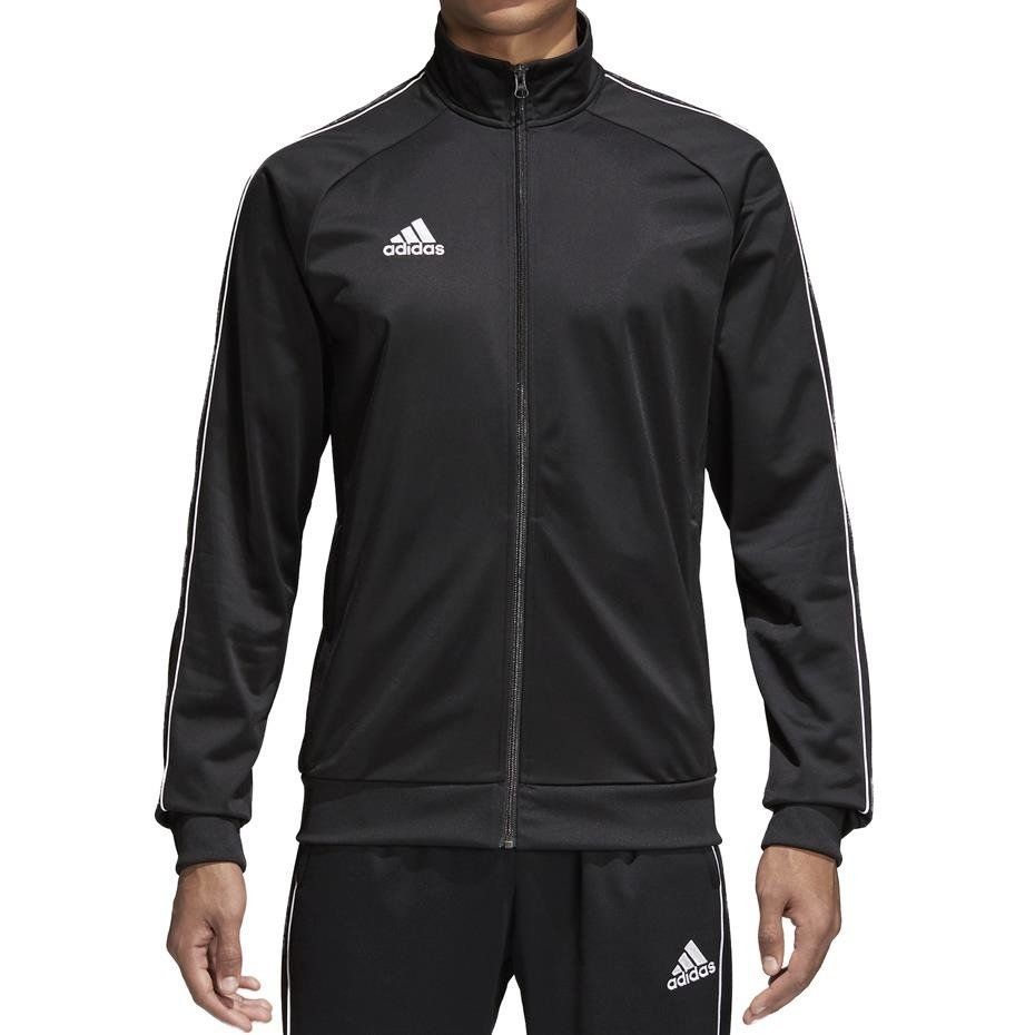 bluza męska adidas core 18 czarna