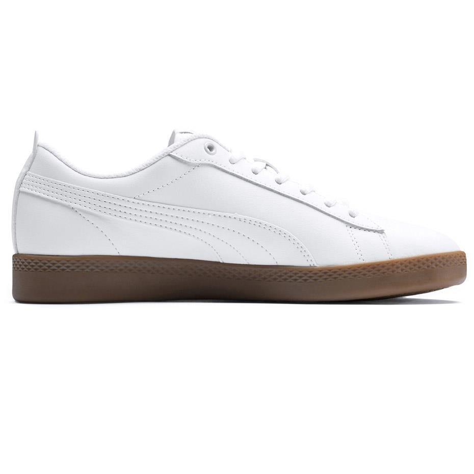 Buty damskie Puma Smash Wns v2 L białe 365208 12