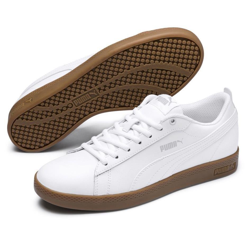 Buty damskie Puma Smash Wns v2 L białe 365208 12 Cena