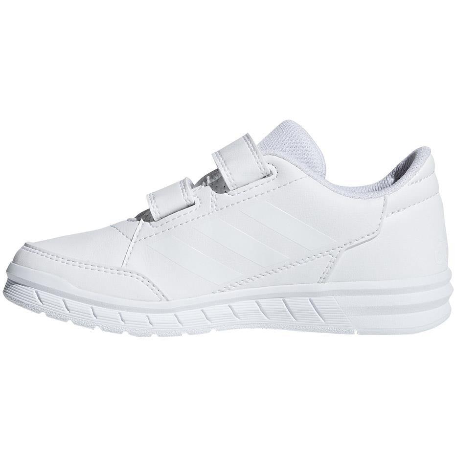 Buty dla dzieci adidas AltaSport CF K białe D96832 Cena