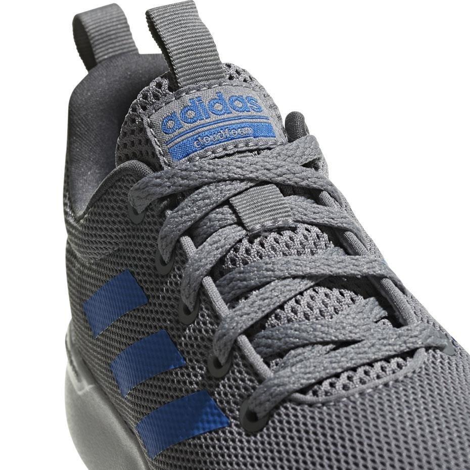 Buty dla dzieci adidas Lite Racer K szaro niebieskie F35440
