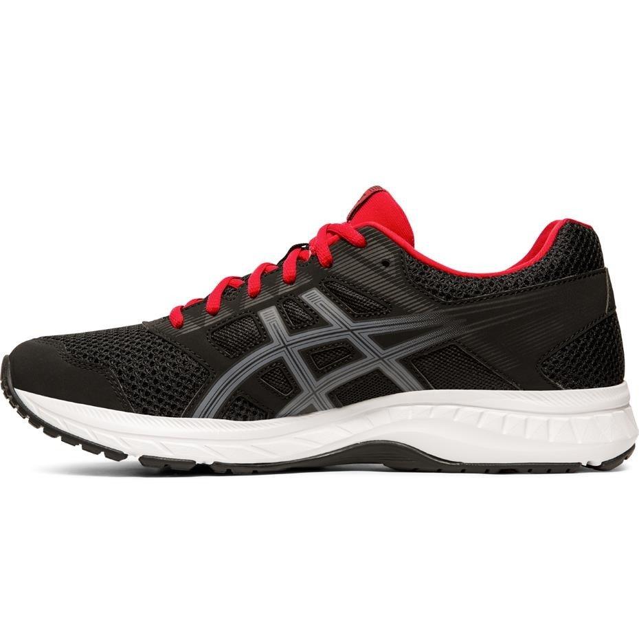 Buty męskie do biegania Asics Gel Contend 5 czarno czerwone 1011A256 005