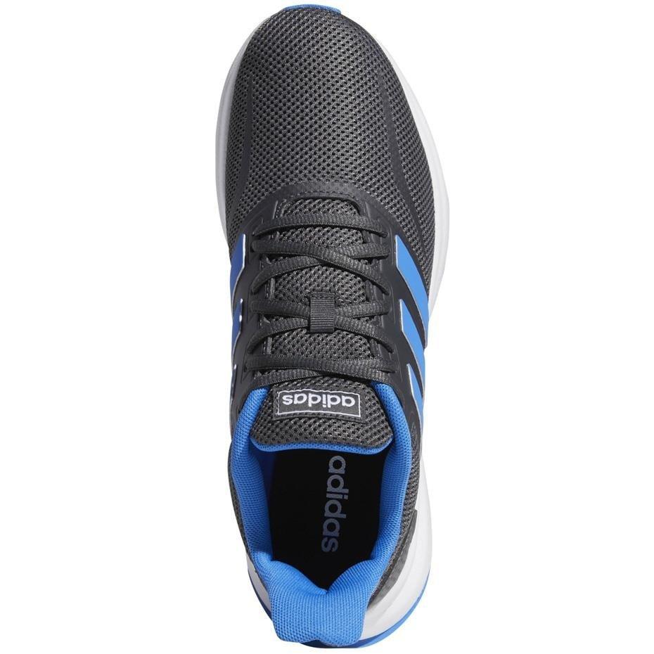 Buty męskie do biegania adidas Runfalcon szaro niebieskie G28730