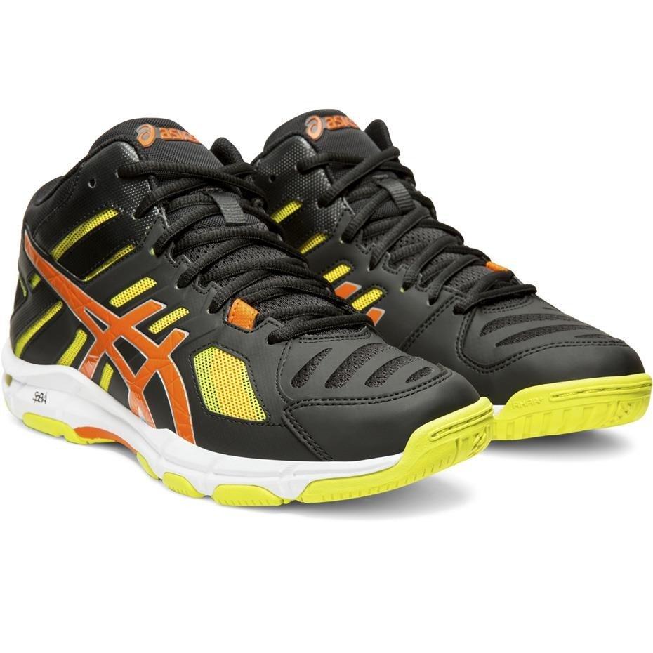 Buty męskie do siatkówki Asics Gel Beyond 5 MT czarno żółto pomarańczowe B600N 001