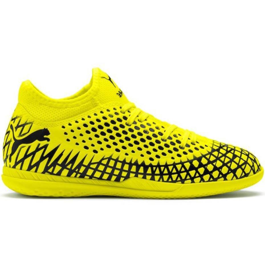 Buty piłkarskie Puma Future 4.4 IT JR żółto czarne 105700 03