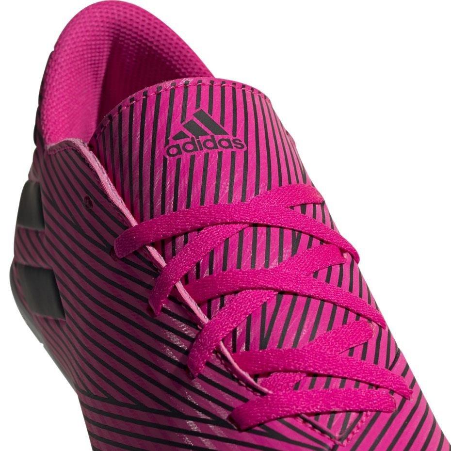 Buty piłkarskie adidas Nemeziz 19.4 IN różowe F34527