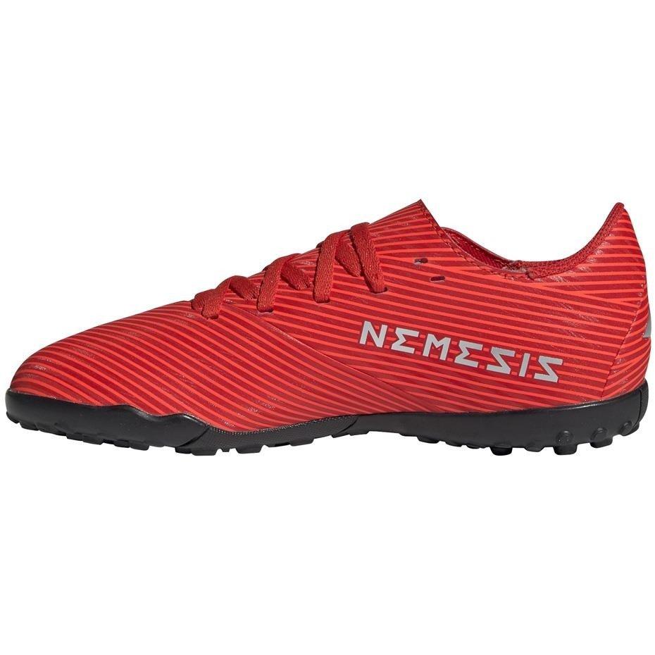 buty na sztuczną nawierzchnię adidas nemeziz czerwone