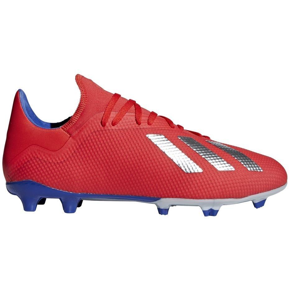 Buty piłkarskie adidas X 18.3 FG czerwone BB9367