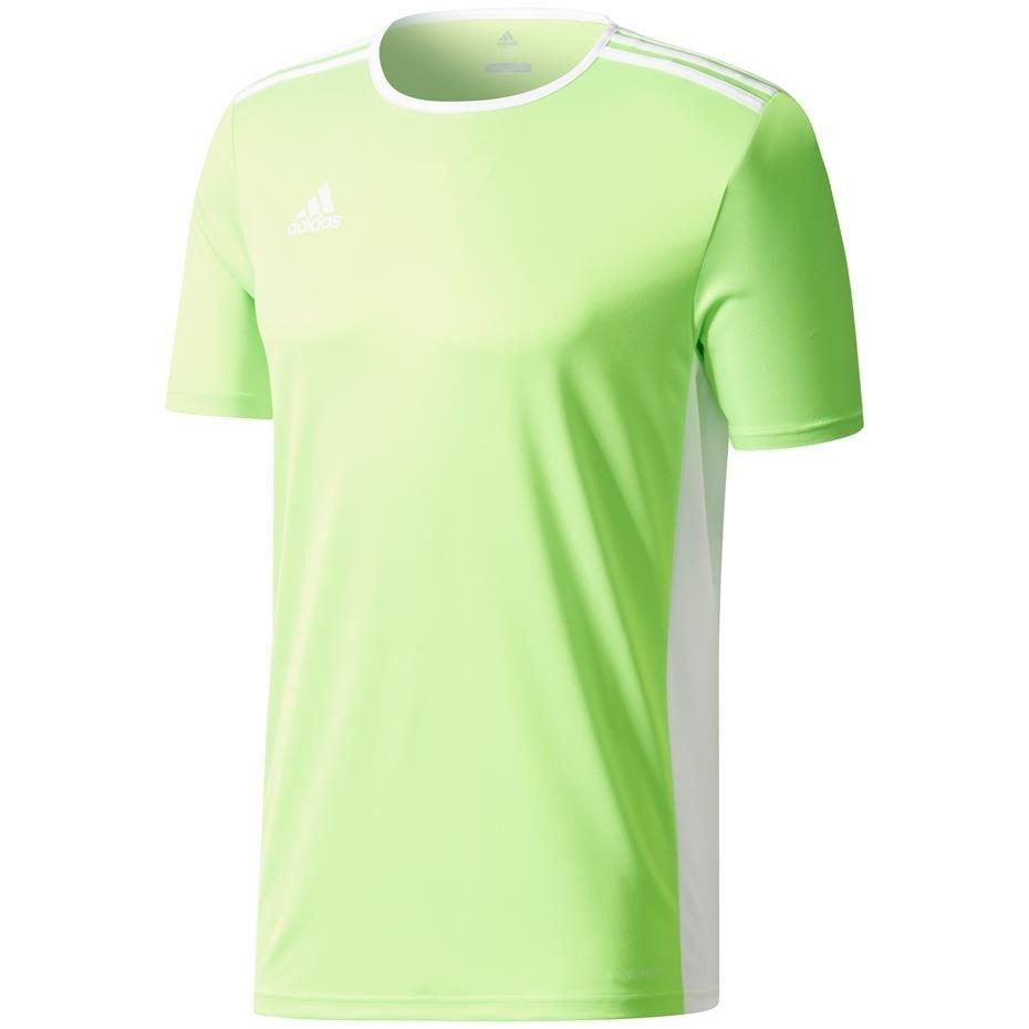 Koszulka dla dzieci adidas Entrada 18 Jersey JUNIOR limonkowa CE9758