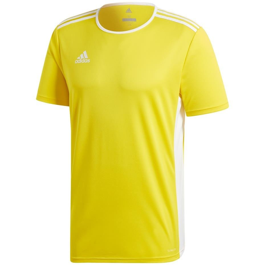 adidas żółta bluza na krótki rękaw