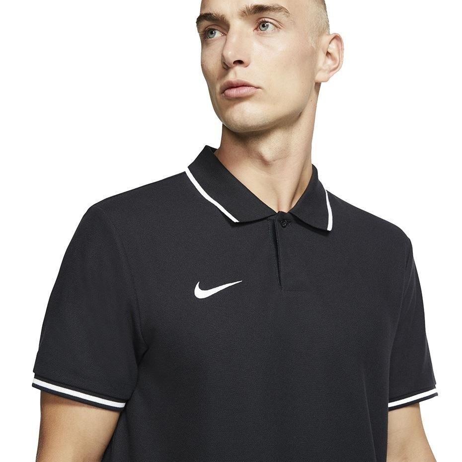 Koszulka męska Nike Team Club 19 Polo czarna AJ1502 010