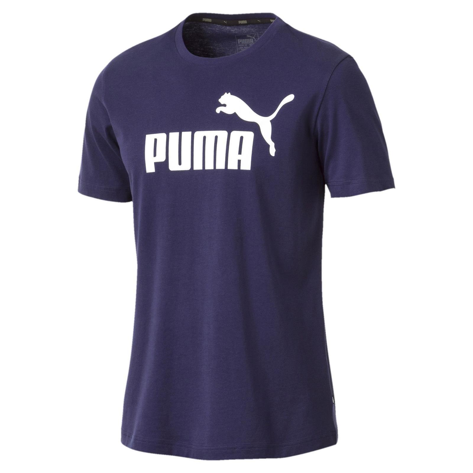 autentyczna jakość najlepiej sprzedający się kupować nowe Koszulka męska Puma ESS Logo Tee granatowa 851740 06