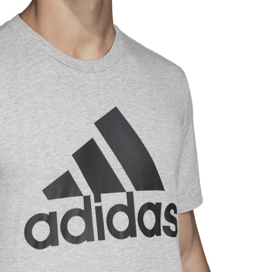 Koszulka męska adidas MH BOS Tee szara DT9930
