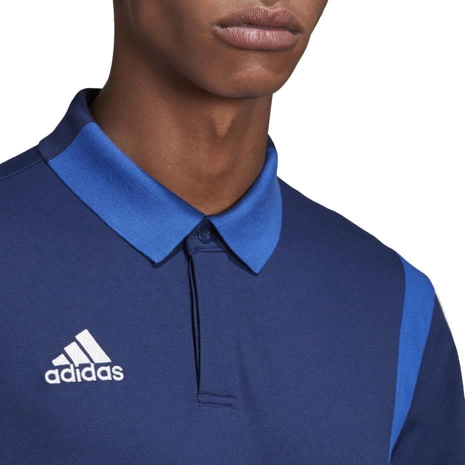 Koszulka męska adidas Tiro 19 Cotton Polo granatowa DU0868