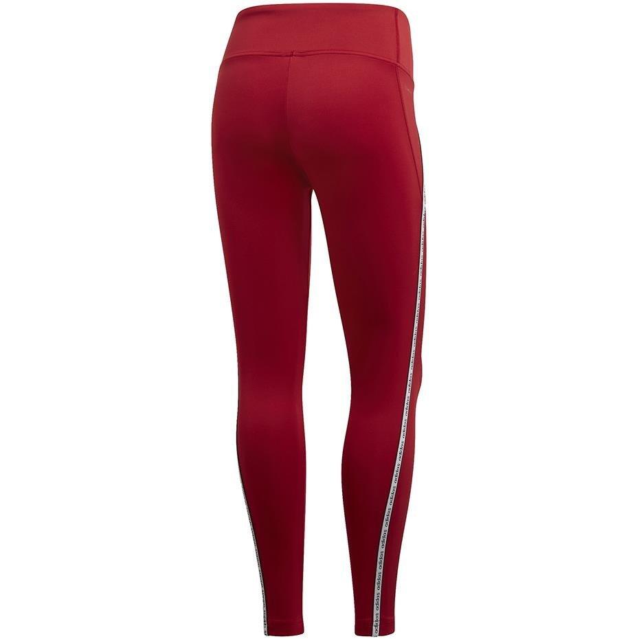 Legginsy damskie adidas W XPR Tight 78 czerwone EI5494