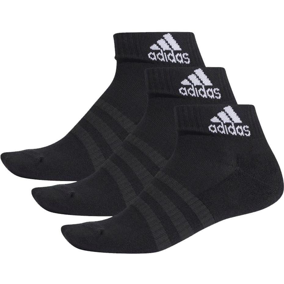 Skarpety adidas Cushioned Ankle 3PP czarne DZ9379
