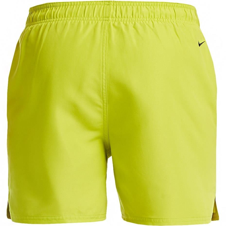 Spodenki kąpielowe męskie Nike Logo Solid limonkowe NESS9504