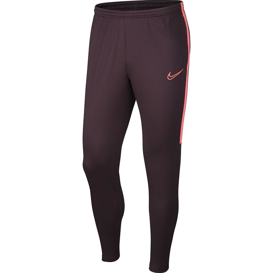 Spodnie męskie Nike Dri FIT Academy Pant bordowe AJ9729 659