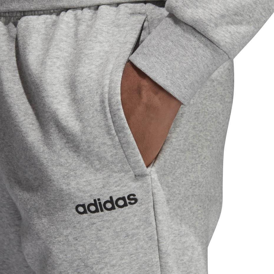 Spodnie męskie adidas Essentials Plain T Pant FL szare