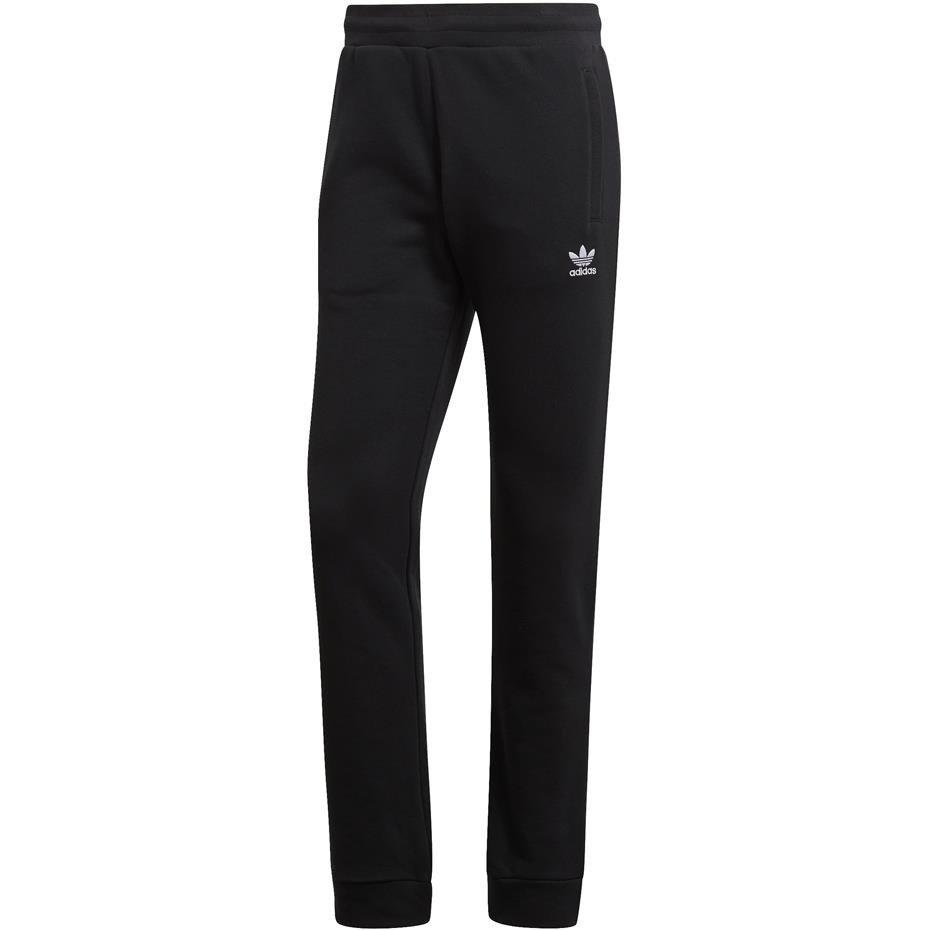 Spodnie męskie adidas trefoil pant czarne dv1574