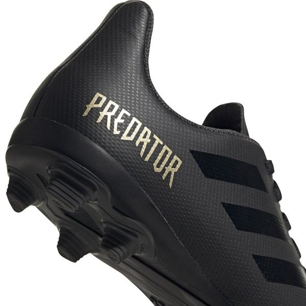 Buty piłkarskie adidas Predator 19.4 FxG Jr EF8989 czarne